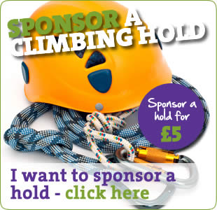 I want to sponsor a climbing hold